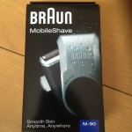 海外旅行&ワーホリ向けの最強のひげそりはブラウン モバイルシェイブ M-90 一択だ。