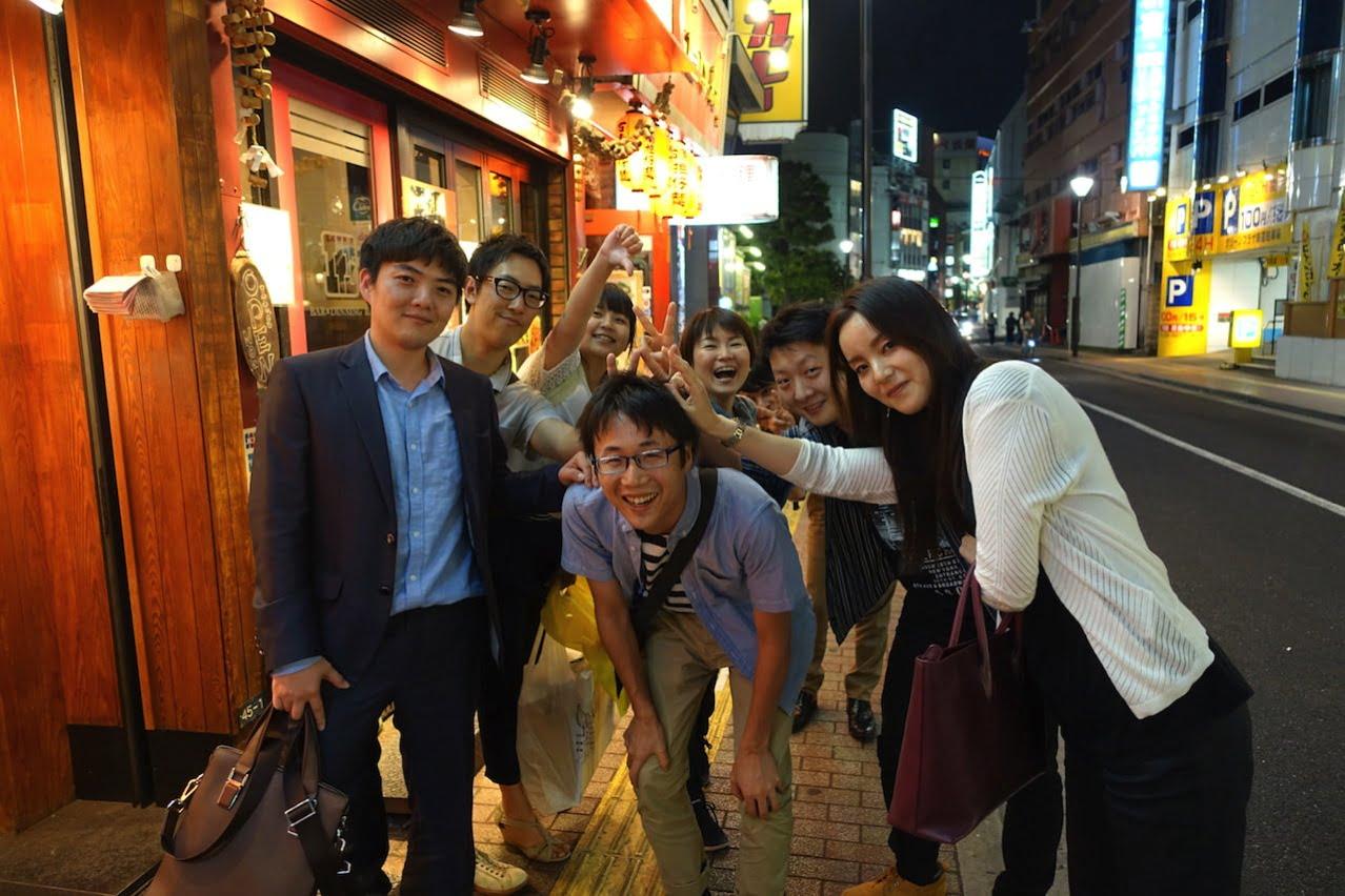 QQ English freinds reunion tokyo27