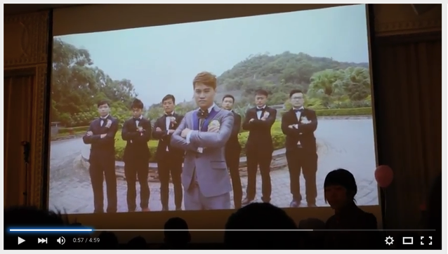 Wedding party video in hongkong 003