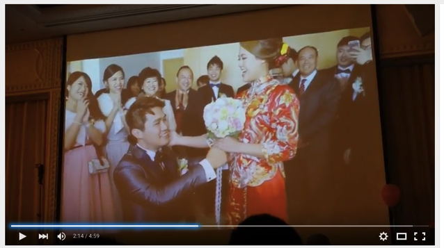 Wedding party video in hongkong 011