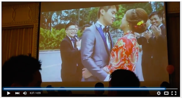 Wedding party video in hongkong 021