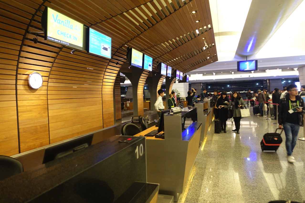 Check in counter airport 02
