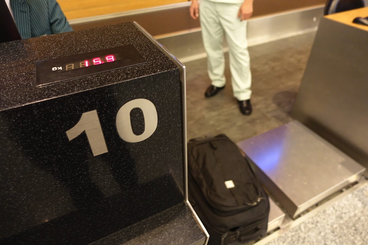 Check in counter airport 03