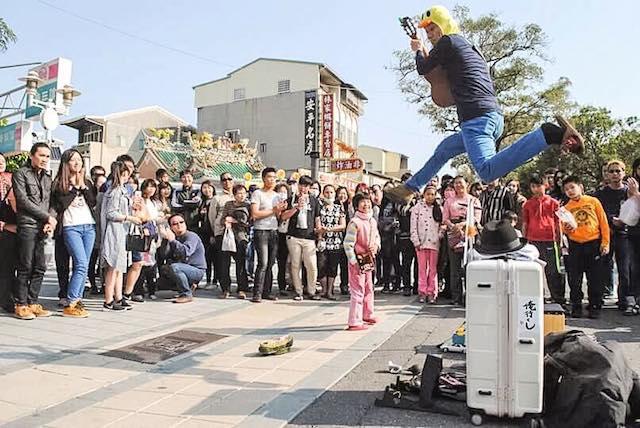 Tony san buking jump tainan