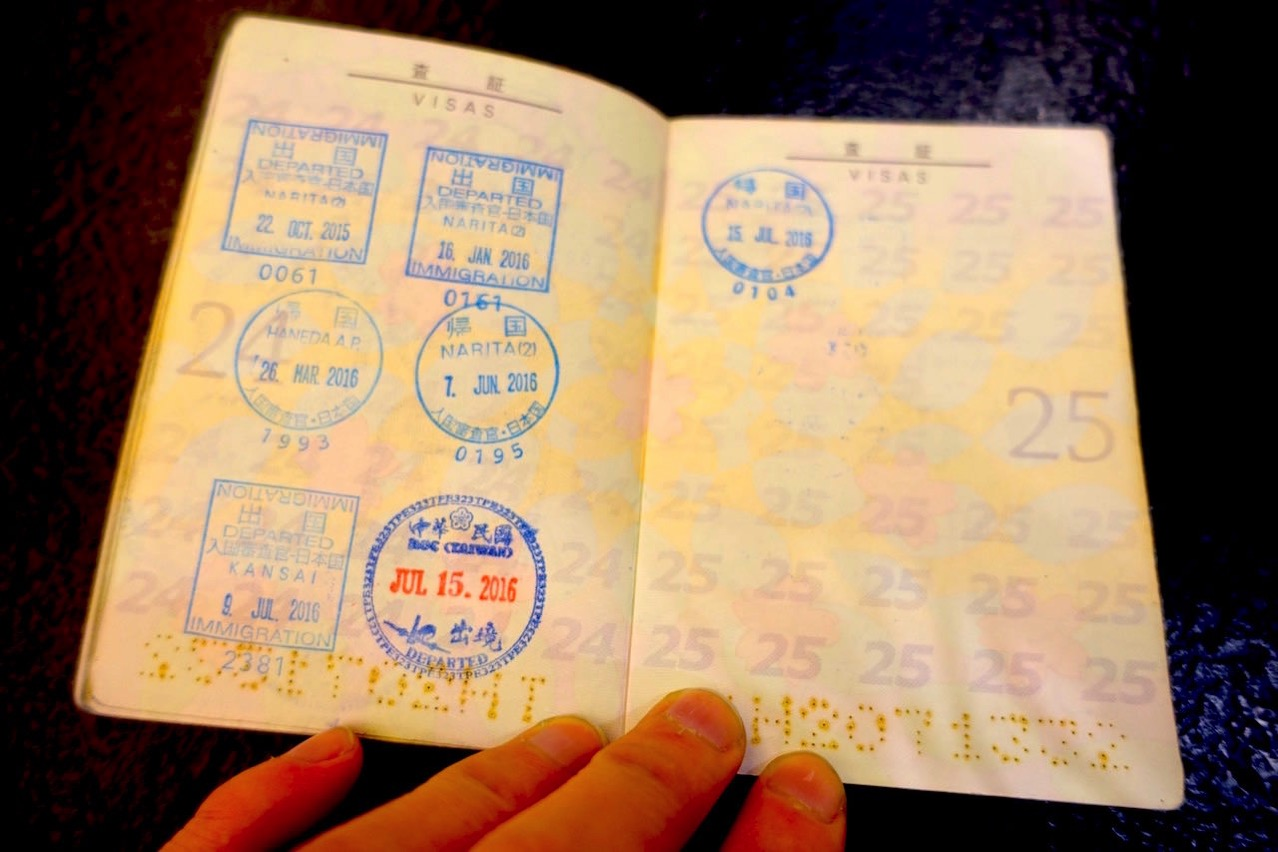 Passport stamps 019