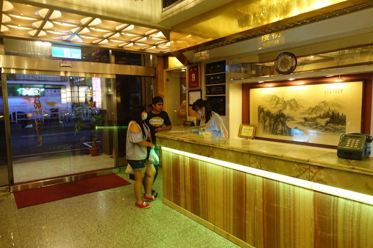 Taiwan taichung crown hostel 002
