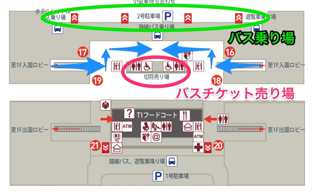 Taoyuan airport t1 bf1