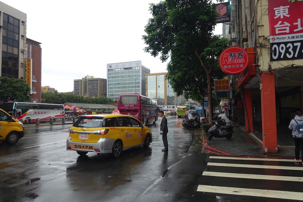 Taoyuan kokusai airrport bus 034