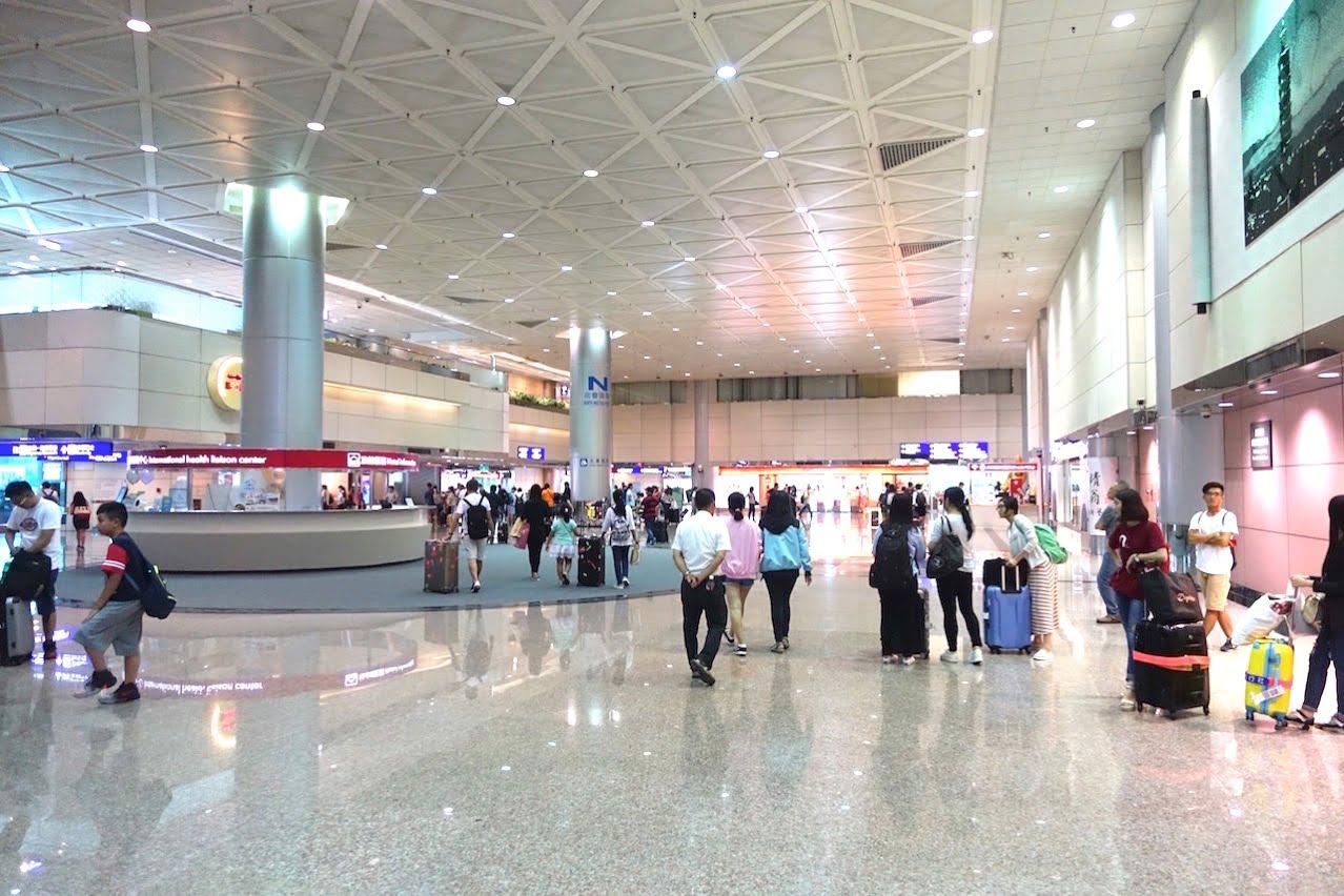 Taoyuan kokusai airrport bus 039