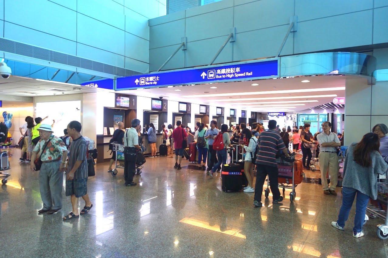 Taoyuan kokusai airrport bus 042