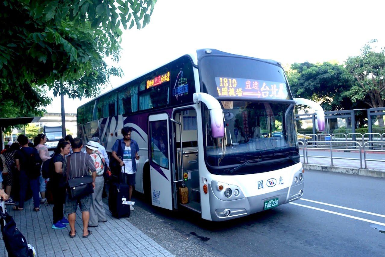 Taoyuan kokusai airrport bus 056