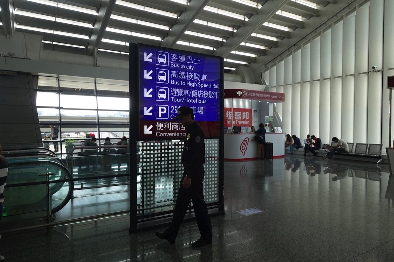 Taoyuan kokusai airrport bus 085