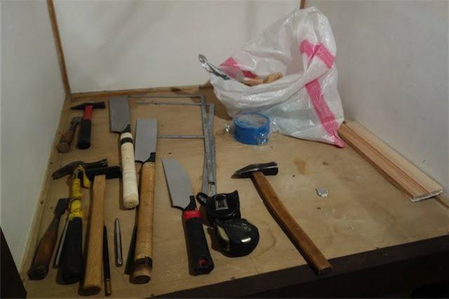 床張り道具 7