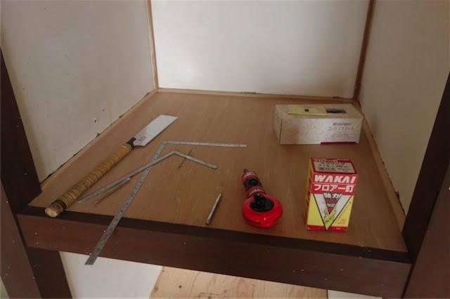 床張り道具 2