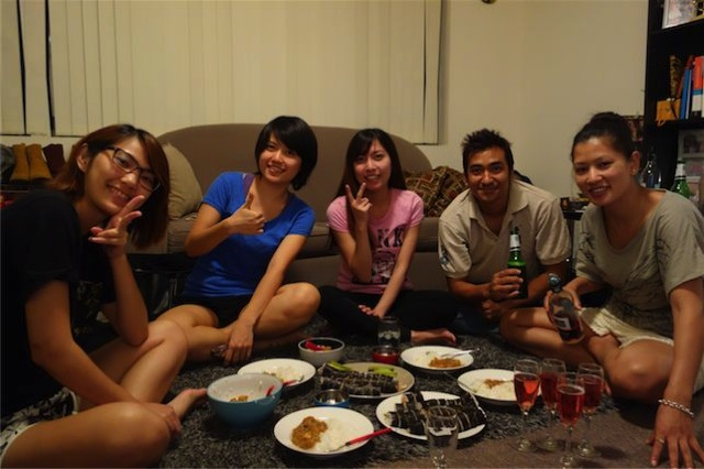 Japanese dish party 07