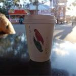 小さな幸せ。パース図書館前にあるコーヒースタンド Polly Coffeeが地味に美味しくてオススメ