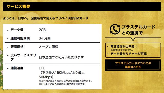 Japan Travel SIM 02