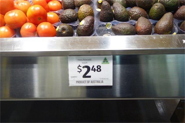 オーストラリア物価 028