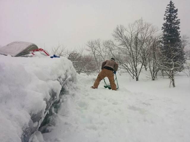 雪下ろし-20