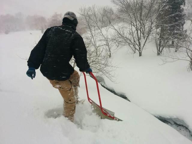 雪下ろし-11