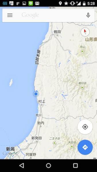 鶴岡までの地図02
