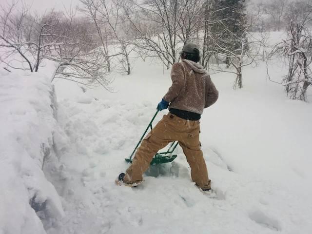 雪下ろし-18