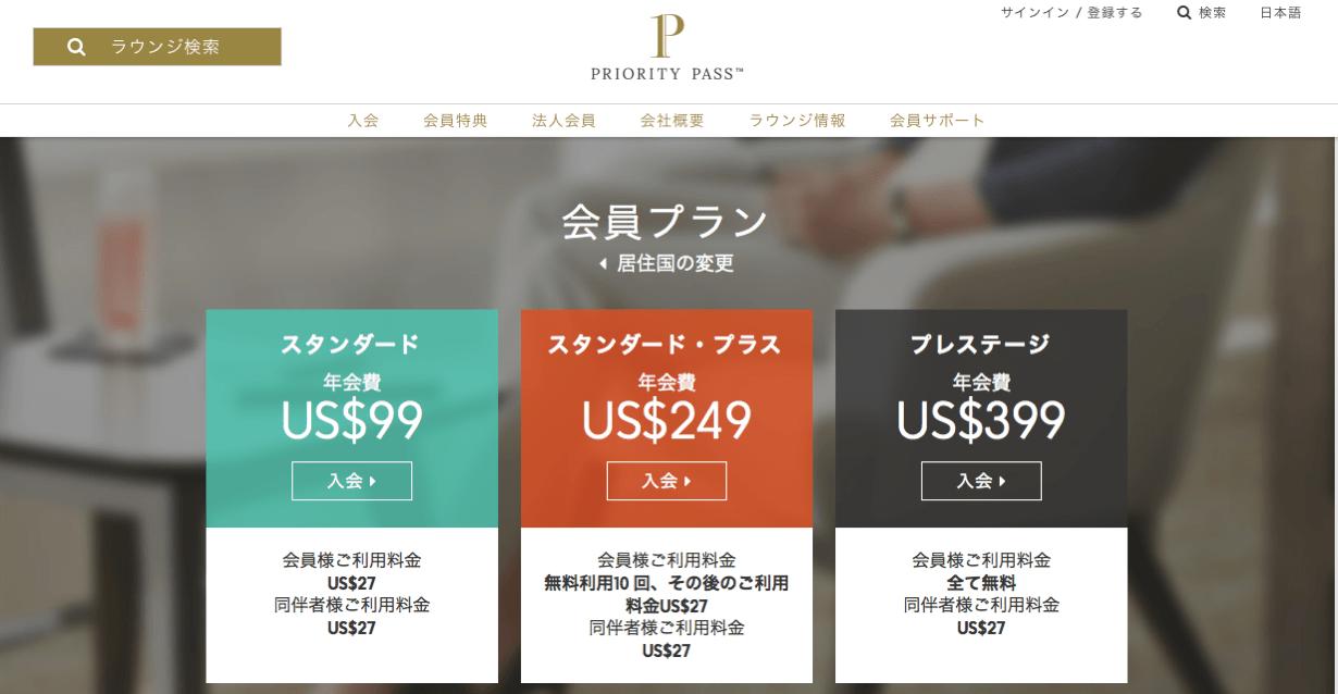Priority pass price