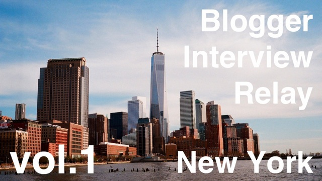 Blogger interview relay 1