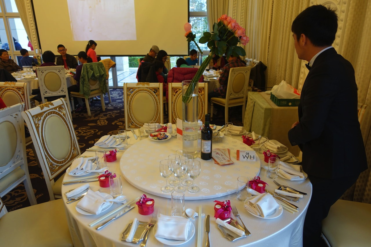 Taichung wedding party table 070