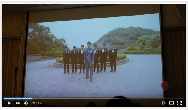 Wedding party video in hongkong 001