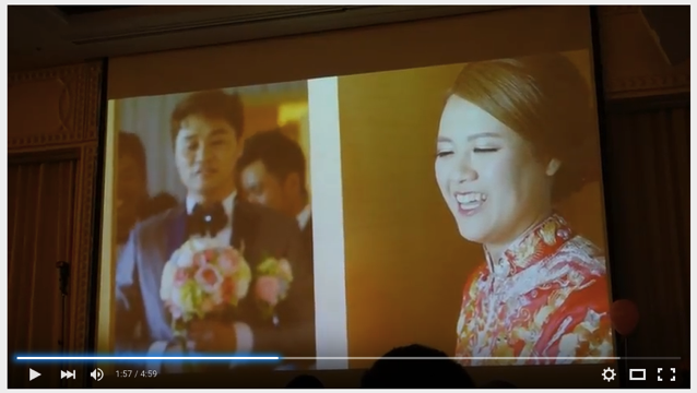 Wedding party video in hongkong 010
