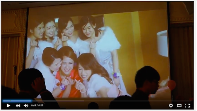 Wedding party video in hongkong 033