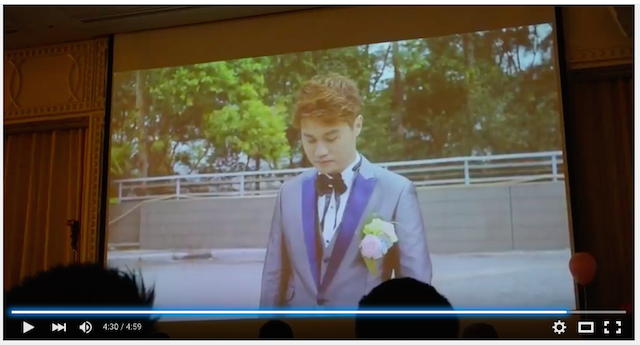 Wedding party video in hongkong 019