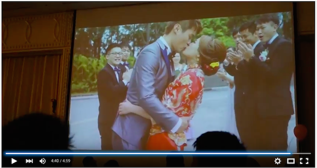 Wedding party video in hongkong 022