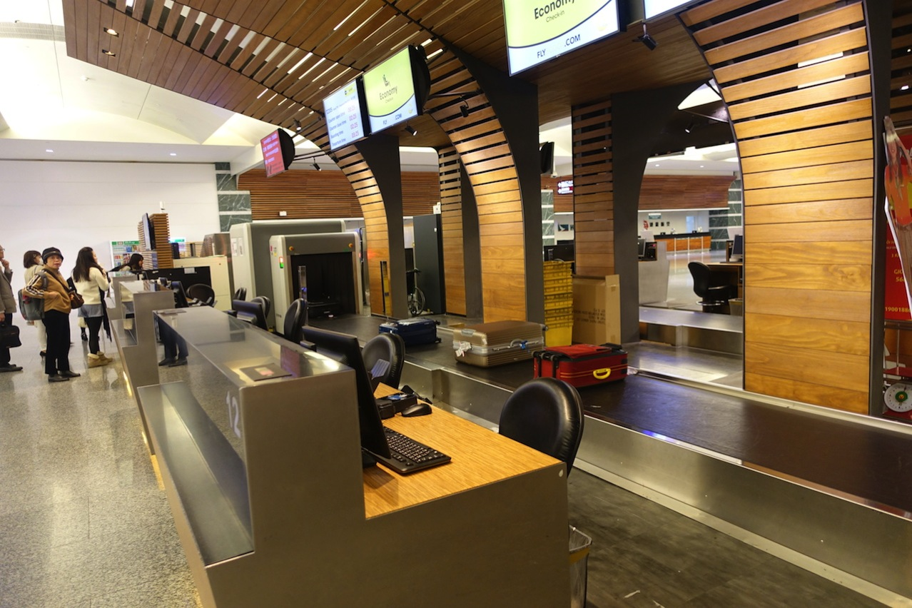 Check in counter airport 01