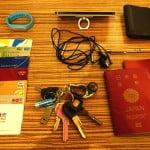 マイライフパッキング!海外生活でぼくを手ぶらさせてくれる便利な必需品19点を紹介します