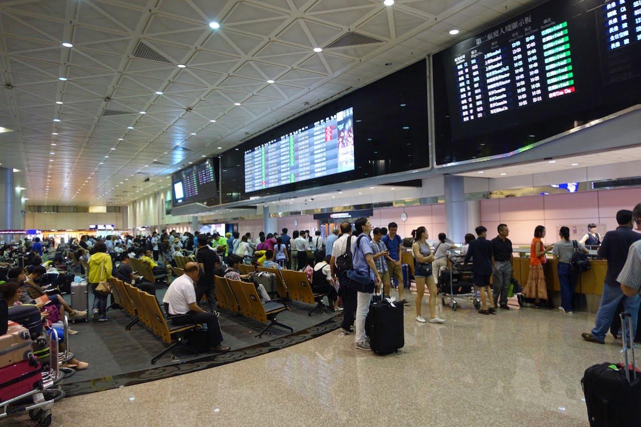Taiwan taoyuan airport cashing atm t2 03