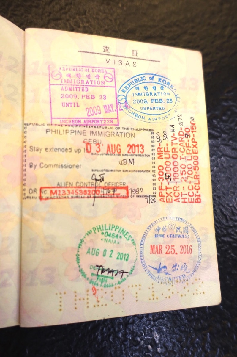 Passport stamps 011