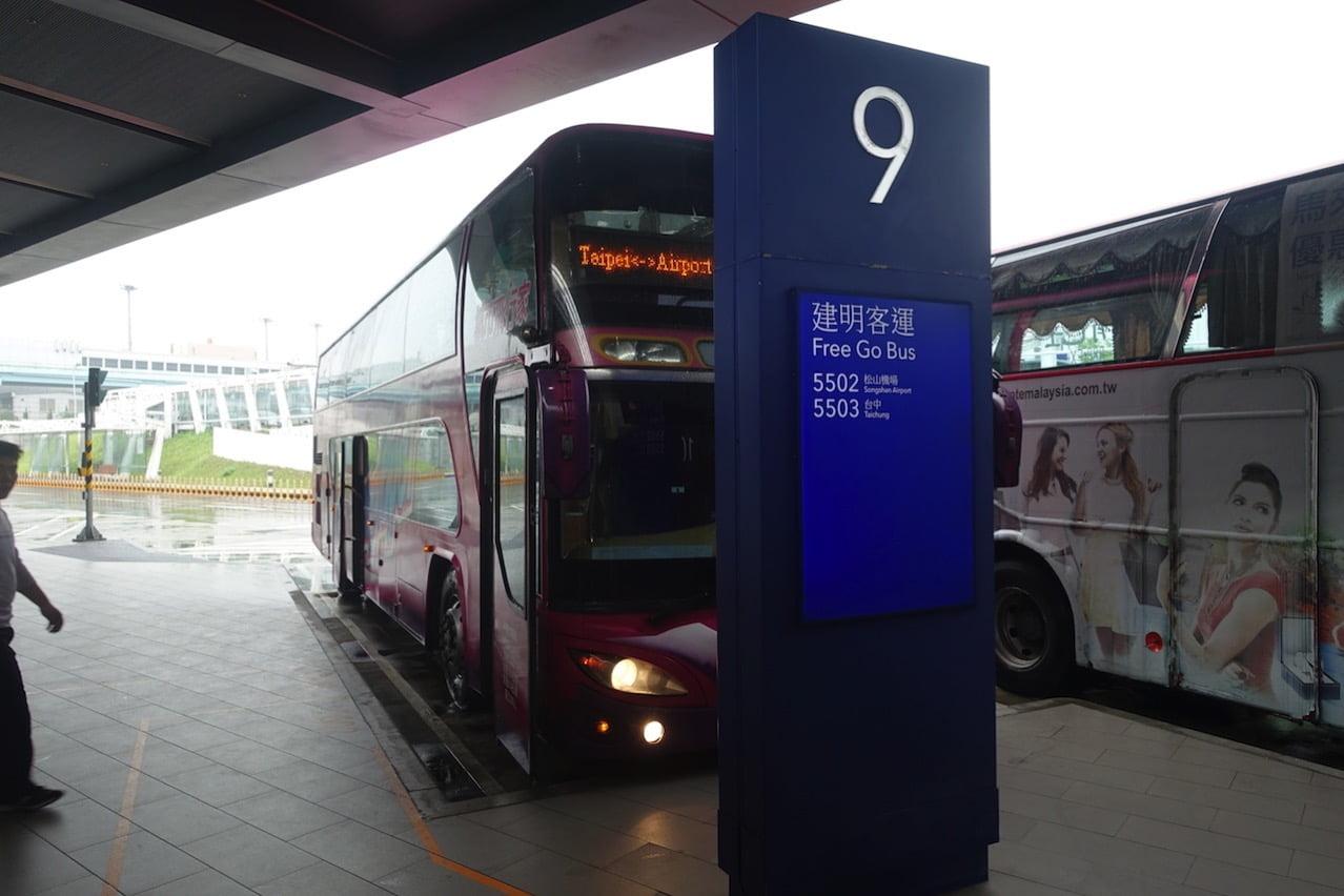 Taoyuan kokusai airrport bus 027
