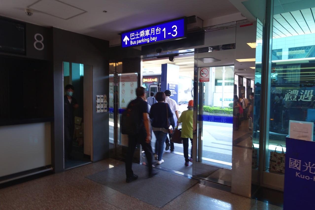 Taoyuan kokusai airrport bus 049