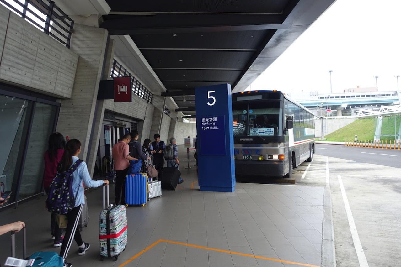 Taoyuan kokusai airrport bus 074