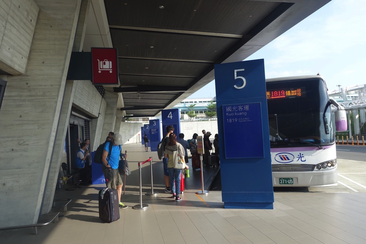 Taoyuan kokusai airrport bus 089