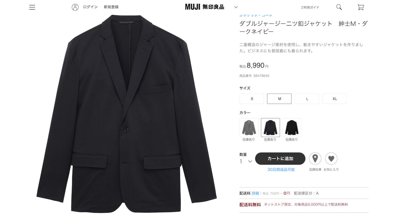 Muji jacket 01