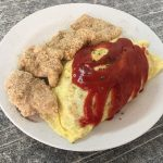 台南まで来てオムライス?いや中身はチャーハンだ!?日台食文化が融合した台南のオムライス屋過客亭葷食素食蛋包飯専売店を紹介します!