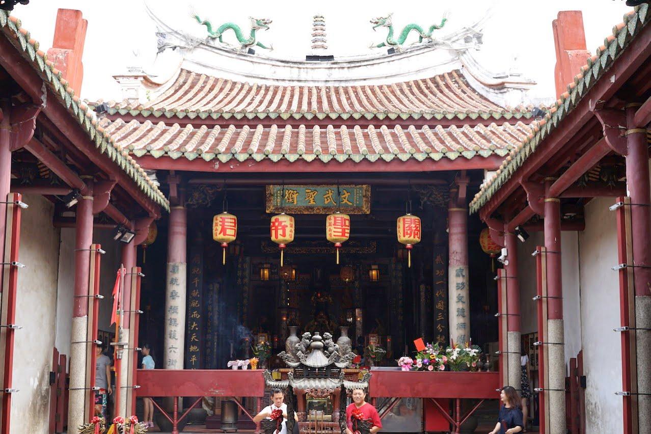 台湾の台南の武廟