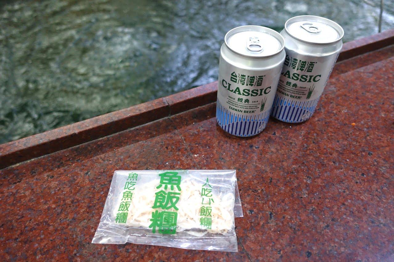 台南のエビ釣り