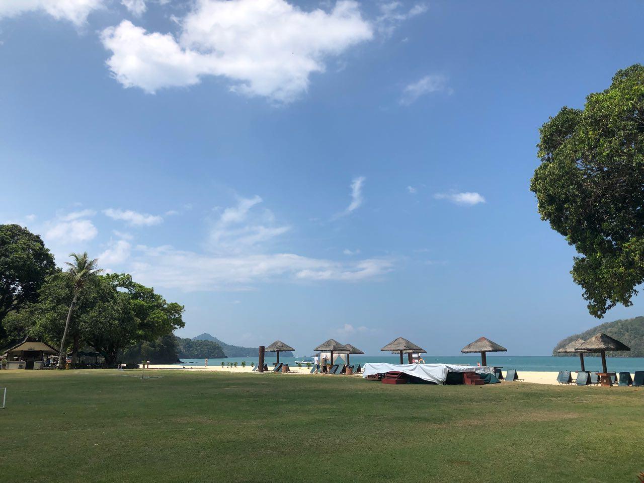 ランカウイ島のビーチ