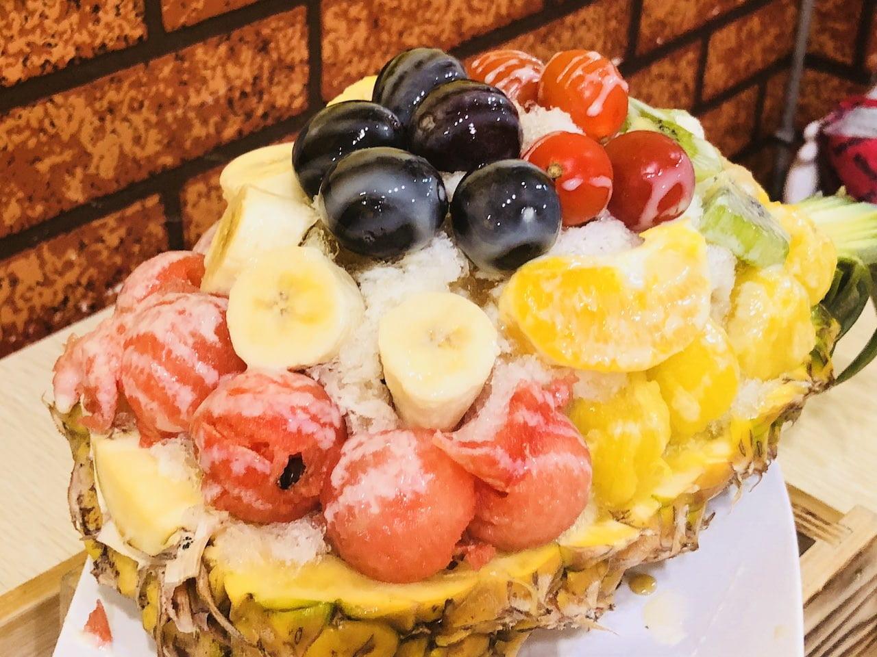 Tainan fruite kakigori 0013
