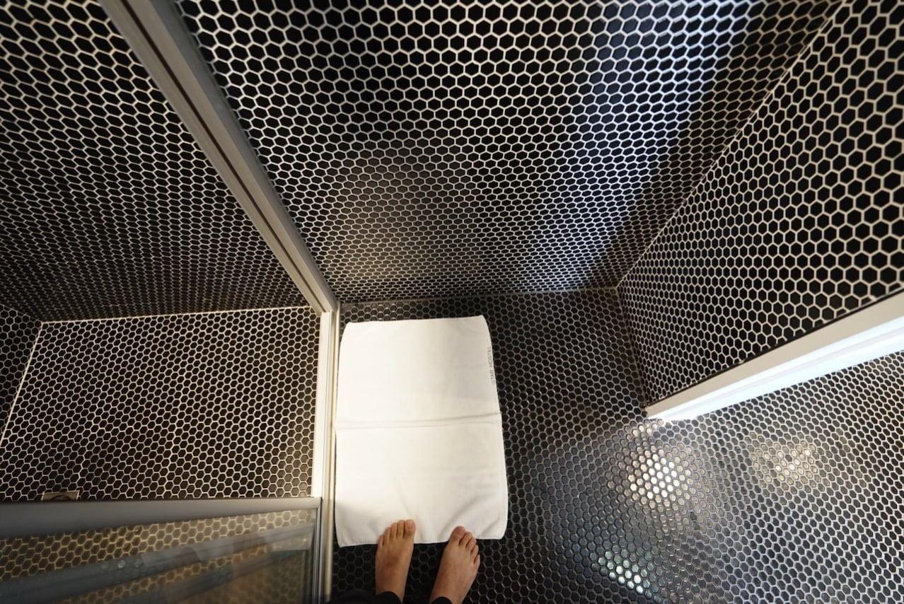 Taipei guesthouse starhostel toilet 16