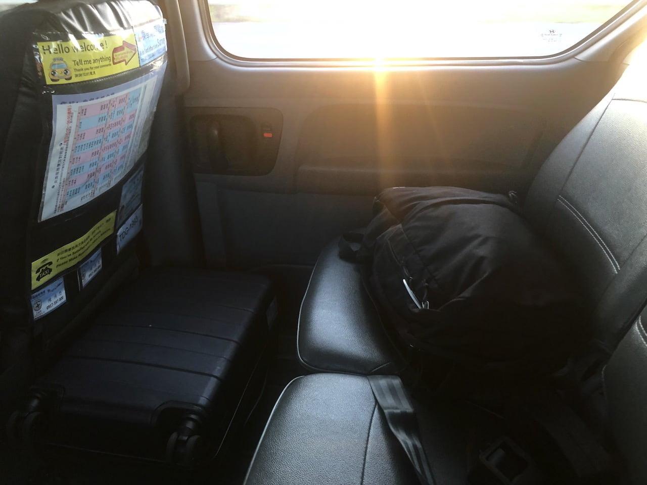 Taoyuan airport taipei taxi 0012
